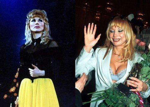Российские звёзды шоу-бизнеса тогда и сейчас