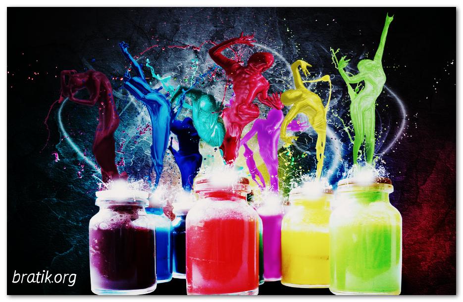 Цвет в жизни людей.