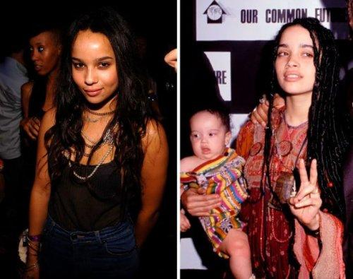 Дети знаменитостей, невероятно похожие на своих родителей в том же возрасте