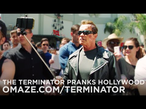 Пранк от Терминатора(Видео)