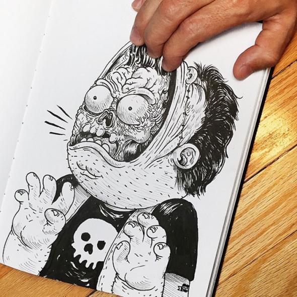 Злые иллюстрации